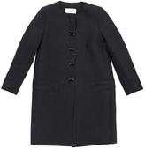 Chloé Navy Linen Coat