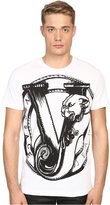 Versace Men's Big Logo Short Sleeve T-Shirt