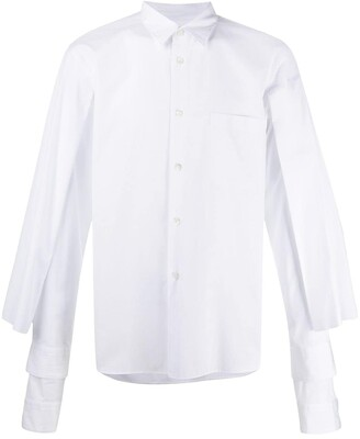 Comme des Garcons Long-Sleeve Cotton Shirt