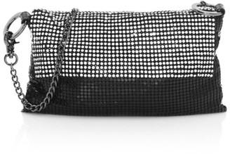 Whiting & Davis Saint Crystal Crossbody Bag