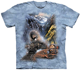 The Mountain Blue Train Homecoming Tee - Toddler & Kids