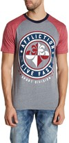 Affliction Rise Above Short Sleeve Raglan Tee