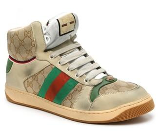 Gucci Screener High-Top Sneaker - Men's