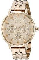 Armani Exchange Women's AX5377 Gold Watch
