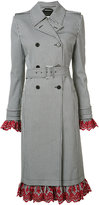 Altuzarra checked double breasted coat - women - Cotton/Polyester/Spandex/Elastane/Acetate - 36