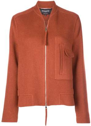 Rochas oversized zip-up jacket