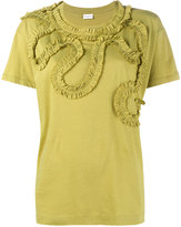 Dries Van Noten frilled-trimmed Harchar t-shirt