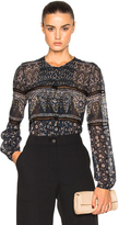 Veronica Beard Daisy Lace Top