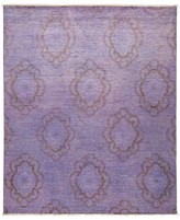"Solo Rugs Vibrance Collection Oriental Rug, 7'10"" x 9'4"""