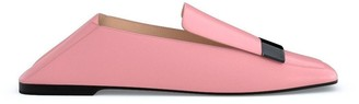 Sergio Rossi customised SR1 slippers