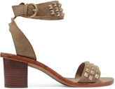 Ash Studded suede sandals