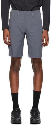 Veilance Grey Voronoi LT Shorts