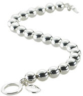Ralph Lauren Silver-Plated Ball Bracelet