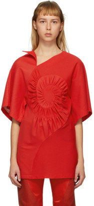 KIKO KOSTADINOV SSENSE Exclusive Red Artisia Kimono Top