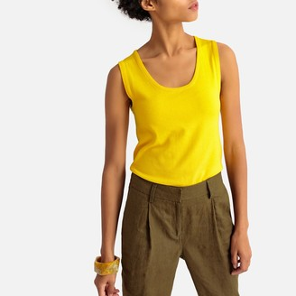 La Redoute Collections Fine Knit Tank Top