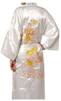 ACVIPen's Satin Gold Dragon Sleepwear Bathrobe
