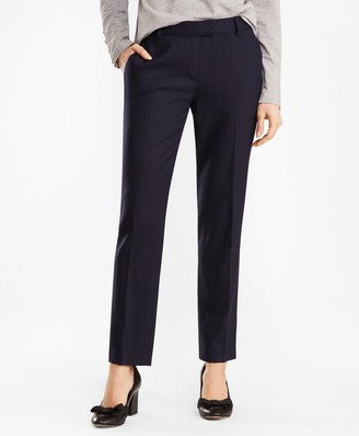 Brooks Brothers Tapered Stretch Wool-Blend Pants