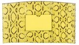 Reed Krakoff Snakeskin Atlantique Clutch
