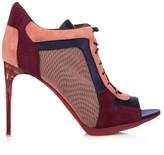 Burberry Cornfield colour-block ankle boots