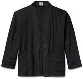 Sasquatchfabrix. - Sashiko-stitched Cotton Hanten Jacket