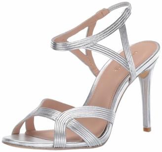 Rachel Zoe Women's Isabella Sandal-Metallic Nappa Heeled
