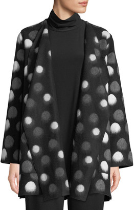 Caroline Rose Plus Size On The Dot Saturday Topper Jacket