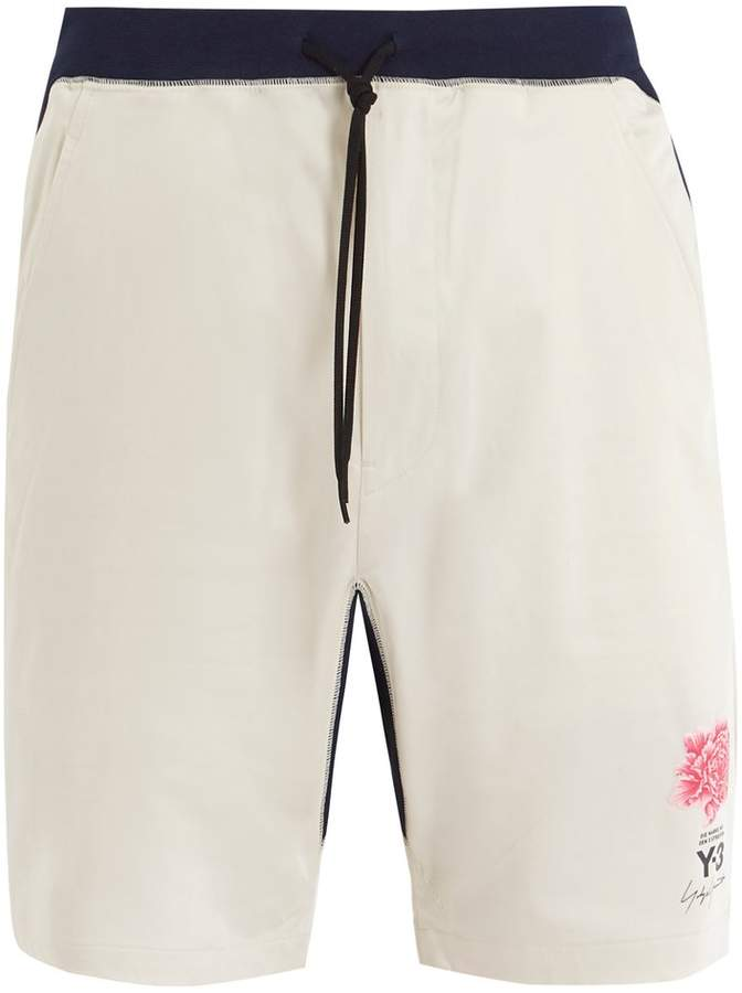 Y-3 X James Harden mid-rise drawstring shorts