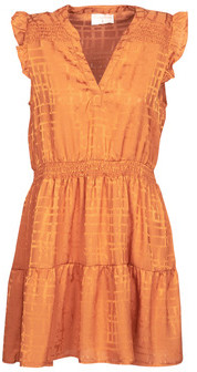 Moony Mood LOLITA women's Dress in Orange