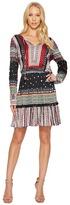 Hale Bob Heart Soul Stretch Satin Woven Dress Women's Dress