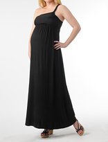 A Pea in the Pod Sleeveless Drape Front Maternity Dress