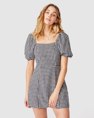 Cotton On Woven Leona Bell Sleeve Mini Dress