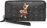 MCM Rabbit Zip Around Wallet