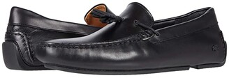 Lacoste Piloter Tassel 0320 1 (Black/Tan) Men's Shoes