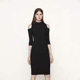 Maje Close-fitting off the shoulder dress