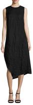 Narciso Rodriguez Textured Asymmetrical Dress