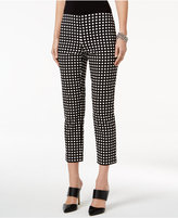 Alfani Cropped Plaid Pants, Only at Macy's