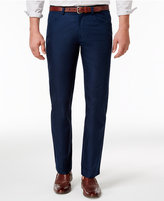 INC International Concepts Men's Slim-Fit Navy Pants, Only at Macy's