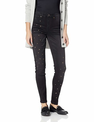 Tribal Women's 5 Pocket Jegging with Star Embroidery Detail