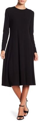 Go Couture Long Sleeve A-Line Dress