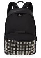 McQ Black Studded Nylon Backpack
