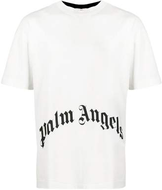 Palm Angels two tone printed T-shirt