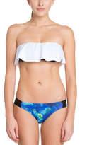 Hurley Aussie Blue Print Bikini Bottom