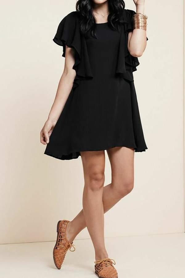 For Love & Lemons Coco Dress Black