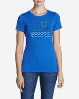 Eddie Bauer Women's Graphic T-Shirt - Linear Outdoors