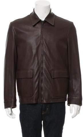 Givenchy Reversible Leather Jacket
