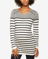 Motherhood Maternity Ruched Sweater