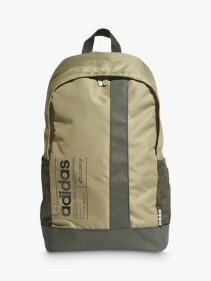 adidas Brilliant Basics Backpack, Legacy Green/Black