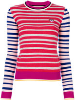 Kenzo Mini Tiger striped jumper - women - Wool - XS