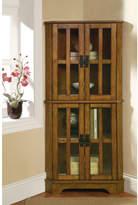 Wildon Home Corner Curio Cabinet