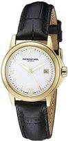 Raymond Weil Women's 5376-P-00307 Tradition Analog Display Swiss Quartz Black Watch